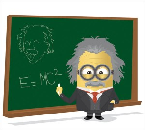 Albert-Einstein-Minion